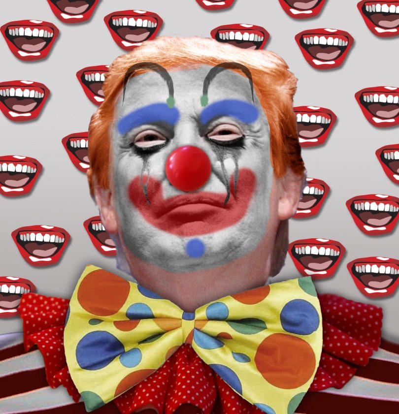 Creepy clown clipart do not say check out these pictures clip royalty free stock What Is Up With Those Creepy Clowns? Two Words: Donald Trump clip royalty free stock