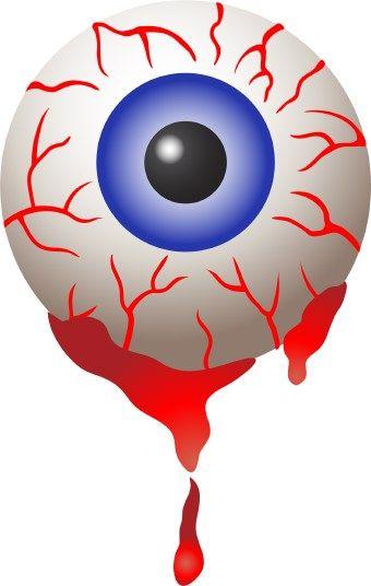 HALLOWEEN BLOODSHOT EYEBALL , CLIP ART | CLIP ART - HALLOWEEN 1 ... vector freeuse stock
