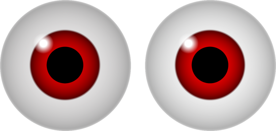 Red eye Googly eyes Color Clip art - eye clip art png download - 900 ... free