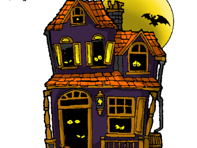 Halloween haunted house clipart clipart freeuse stock Haunted House Vector Free Download Clip Art - carwad.net clipart freeuse stock