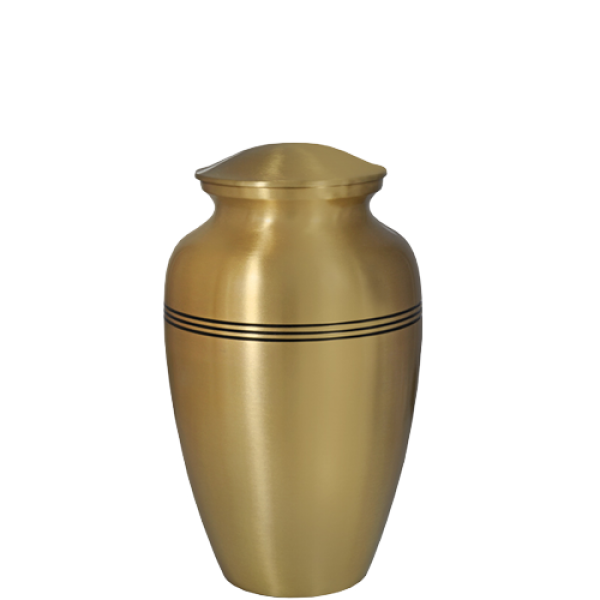 Cremation clipart png black and white stock Cremation Urns: Golden Classic- 6\