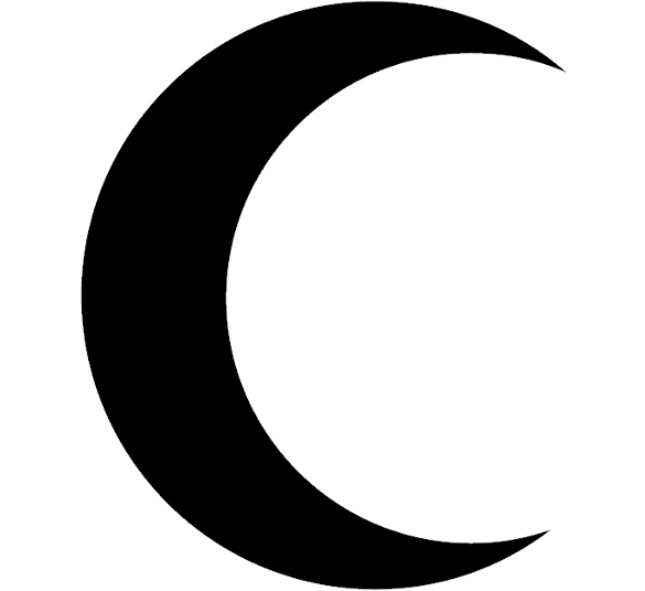 Free black and white clipart with half moon and star image black and white library moon clipart black and white solid black crescent moon clipart ... image black and white library