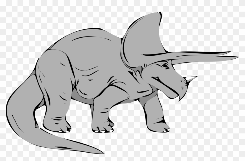 Cretaceous clipart jpg freeuse download Triceratops Tyrannosaurus Dinosaur Late Cretaceous - Triceratops ... jpg freeuse download