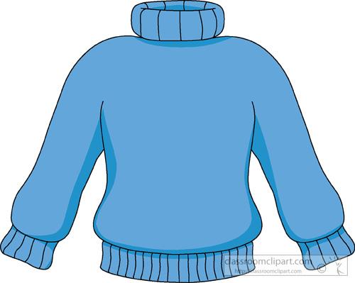 crewneck sweatshirt clipart #3