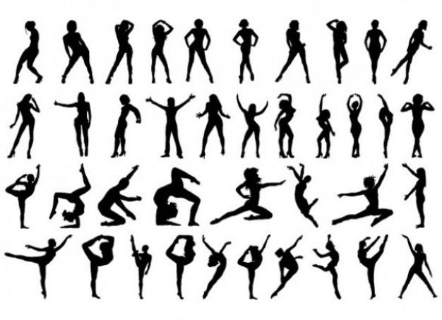 Crewpositions clipart svg transparent download Aerobic positions | Workouts | Silhouette vector, Vector free ... svg transparent download