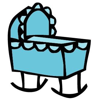Crib baby clipart jpg royalty free 78+ Baby Crib Clipart   ClipartLook jpg royalty free