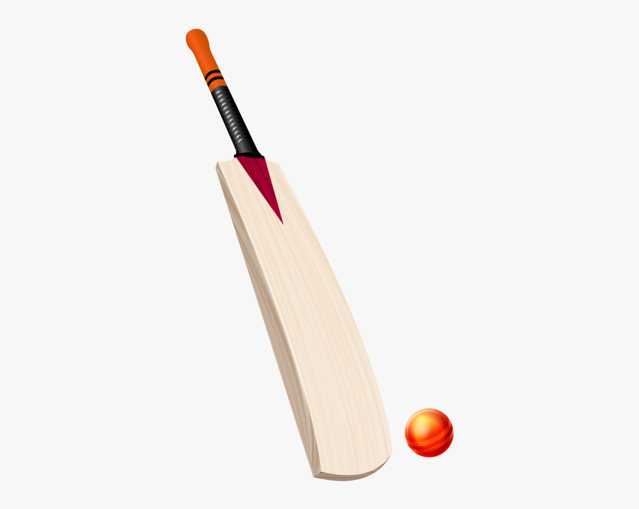 Cricket ball and bat clipart svg free stock Bat Png Cricket - Bat And Ball Png #1343903 - Free Cliparts on ... svg free stock