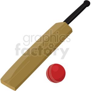 Cricket ball and bat clipart vector freeuse cricket bat and ball vector clipart no background . Royalty-free clipart #  409536 vector freeuse