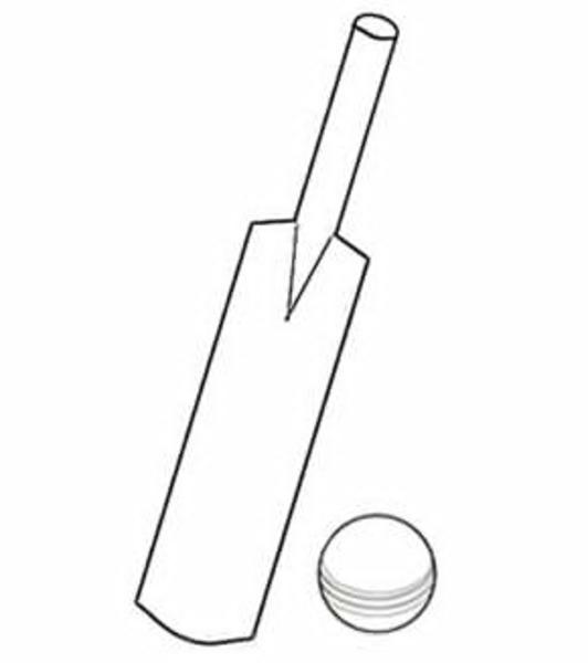 Cricket bat clipart black and white graphic black and white stock Cricket Bat Clipart Black And White | Free Images at Clker.com ... graphic black and white stock