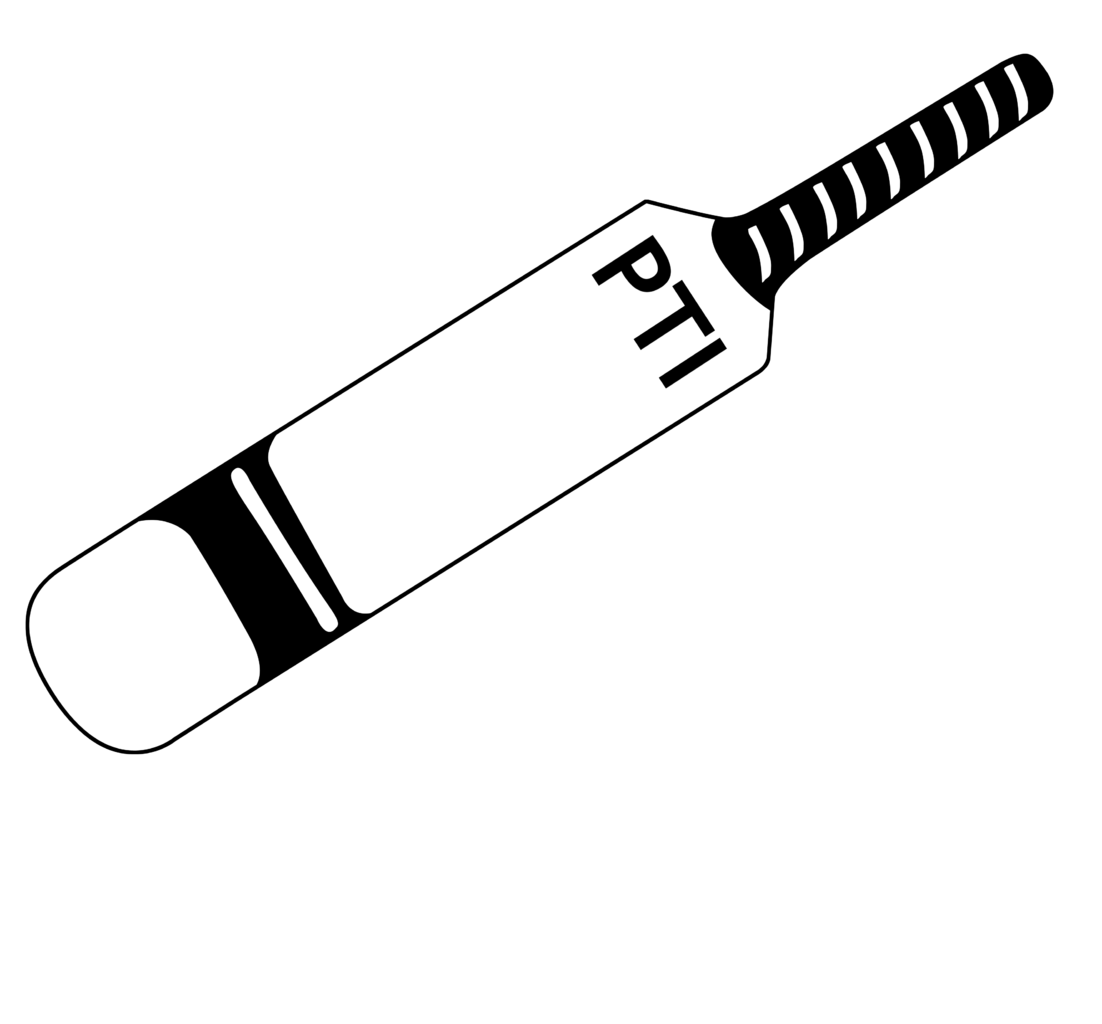 Cricket bat clipart black and white banner royalty free download Cricket bat clipart black and white » Clipart Station banner royalty free download