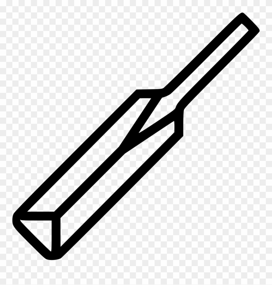 Cricket bat clipart black and white picture library stock Cricket Bat Sports Comments - Cricket Bat Clipart Black And White ... picture library stock