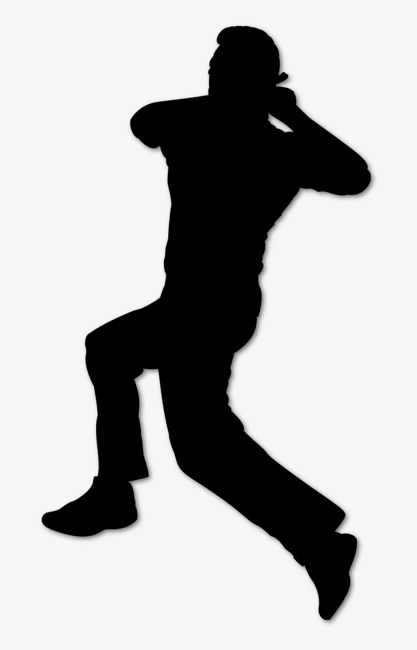 Cricket bowler clipart picture royalty free stock Cricket Bowler Silhouette Black - Cricket Bowling Clip Art - Free ... picture royalty free stock