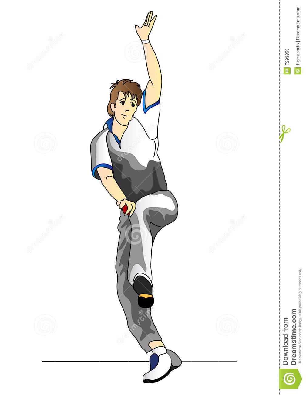 Cricket bowler clipart banner freeuse download Cricket bowler clipart 9 » Clipart Station banner freeuse download
