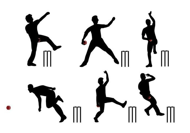 Cricket bowler clipart vector freeuse download Top 5 Greatest Test Cricket bowlers of all time vector freeuse download