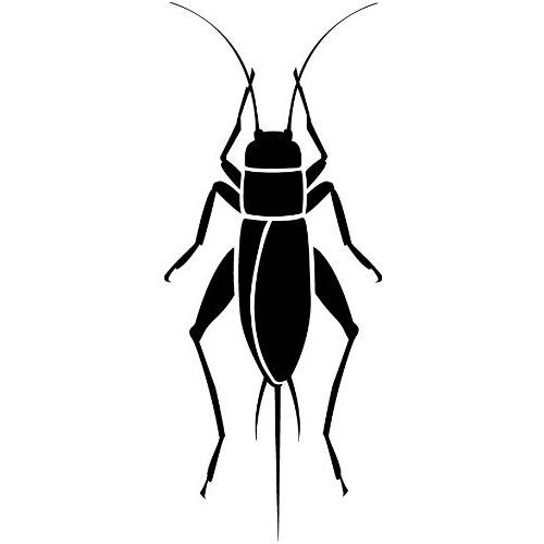 Cricket bug clipart image Black Cricket Insect Clipart - clipartsgram.com | ink | Cricket ... image