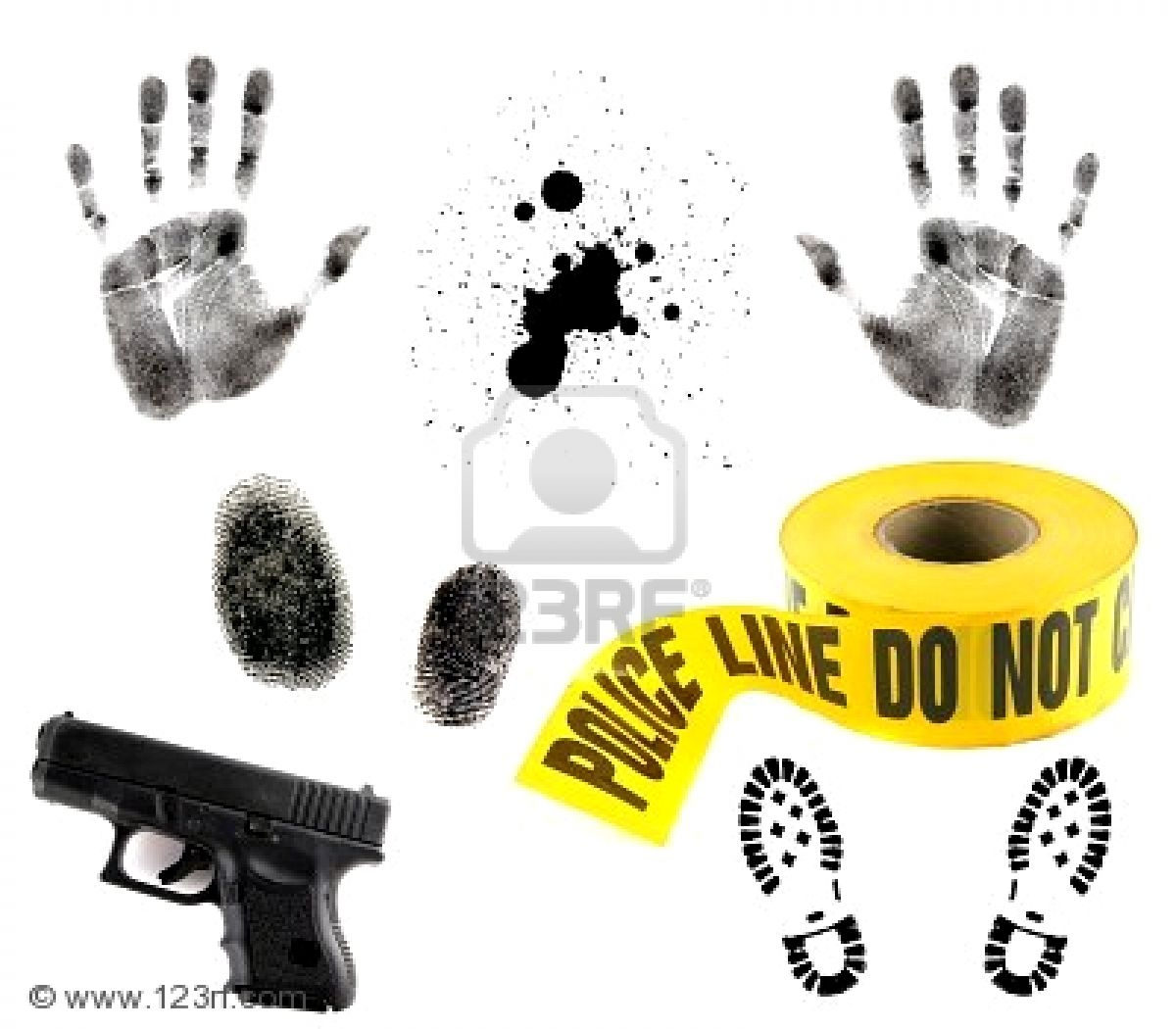 Crime scene investigation clipart vector black and white Crime Scene Clipart Group with 81+ items vector black and white