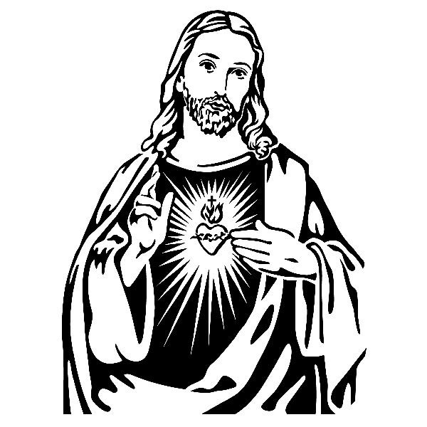 Cristo jesus dios religion catolicos svg clipart svg free library Vinilos Decorativos: Jesús | Top Christian | Imágenes religiosas ... svg free library