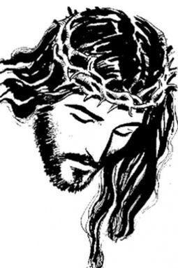 Cristo jesus dios religion catolicos svg clipart jpg transparent library christ | tattoo nazareno | Imagen de cristo, Dibujos de jesús y ... jpg transparent library
