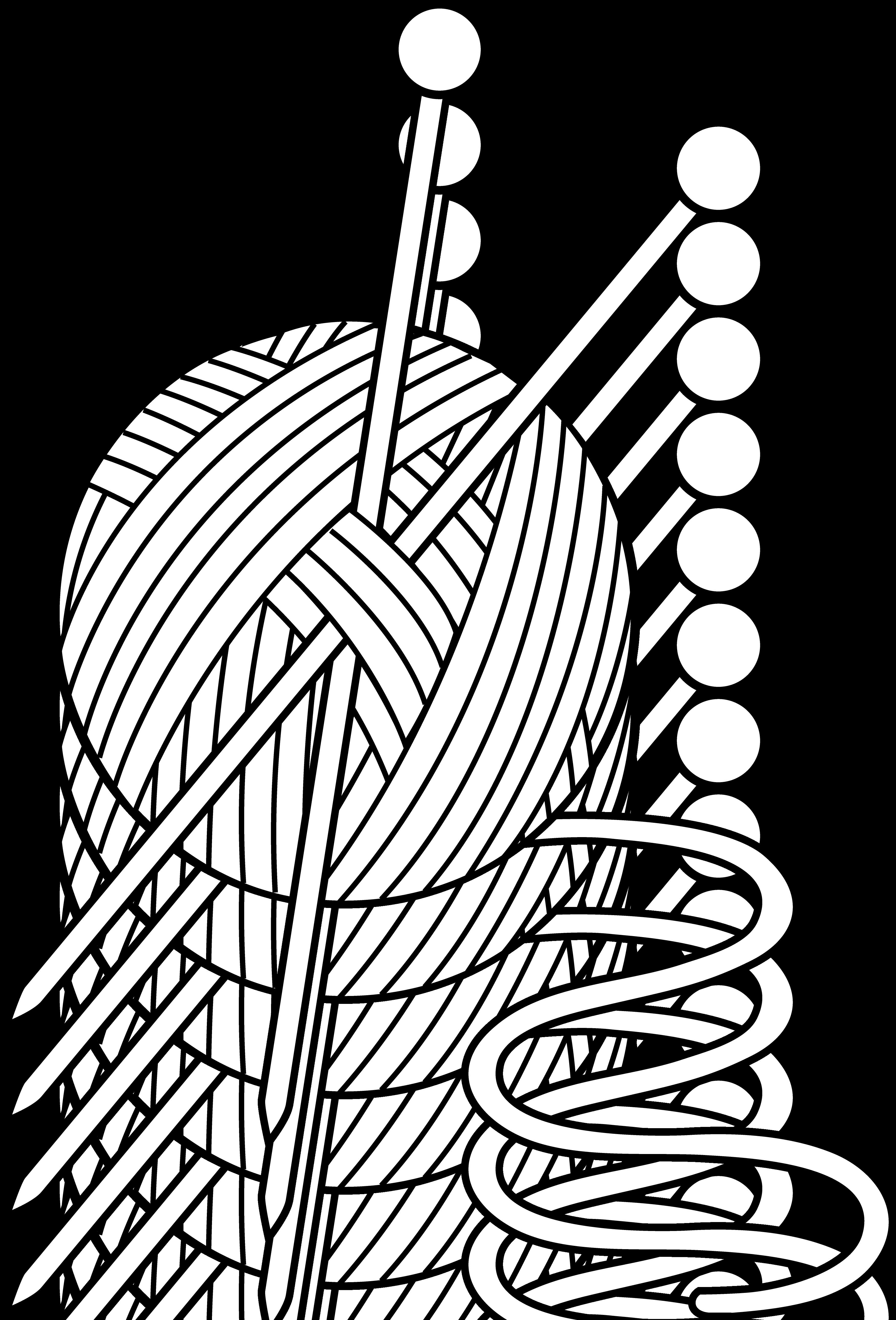 Crochet clipart logo cartoon black and white graphic free Crochet clipart logo cartoon black and white - ClipartFest graphic free