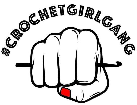 Crochet clipart logo cartoon black and white free Crochet Girl Gang CAL logo | CGG CAL | Pinterest | Logos, Crochet ... free