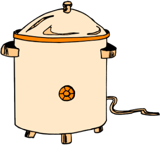 Crockpot clipart png black and white Free Crockpot Cliparts, Download Free Clip Art, Free Clip Art on ... png black and white