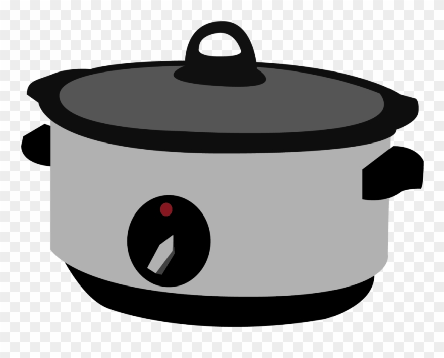 Crockpot clipart vector freeuse library Pentola Slow Cooker - Lid Clipart (#3934226) - PinClipart vector freeuse library