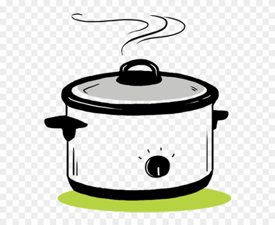 Crockpot clipart image black and white library The Crock-pot Is Your Friend - Crockpot Clipart - Png Download ... image black and white library