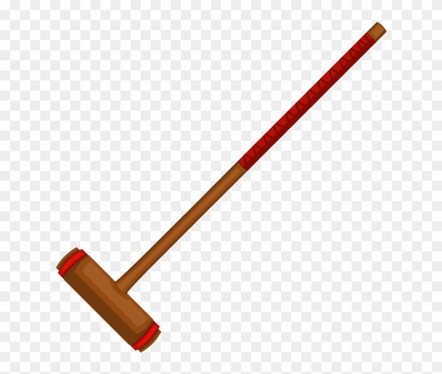 Mallets Are Swinging, Croquet Balls Racing Along The - Tool Clipart ... banner stock