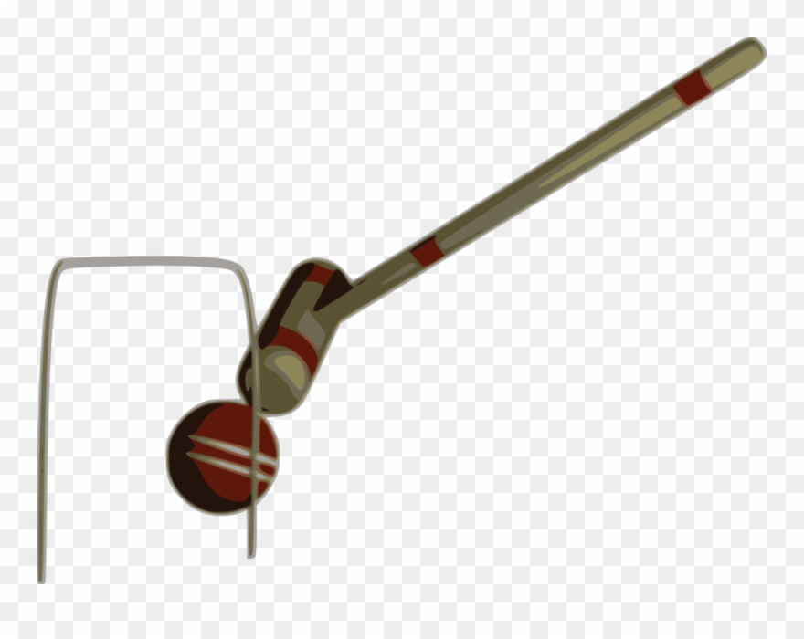 Ball Croquet Wicket Sports - Croquet Mallet Red Clipart - Png ... jpg freeuse