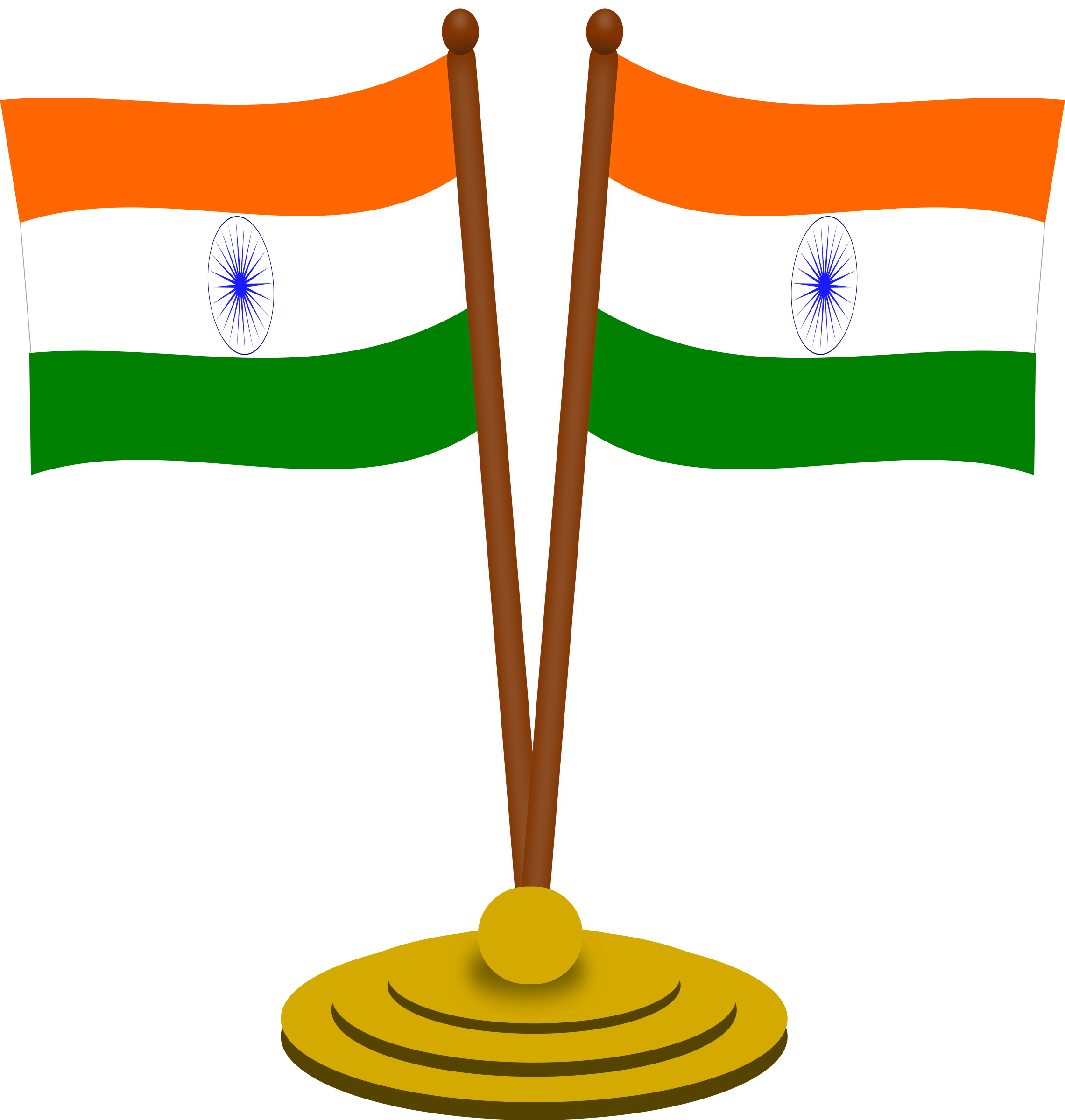 Indian football clipart library Image India Flag Clip Art - 6823 - TransparentPNG library