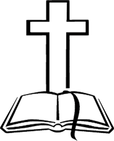 Cross and bible black and white clipart jpg black and white Free Bible And Cross Clipart, Download Free Clip Art, Free Clip Art ... jpg black and white