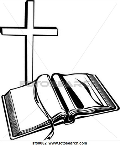 Cross and bible black and white clipart jpg free library Bible Clipart Black And White | Free download best Bible Clipart ... jpg free library