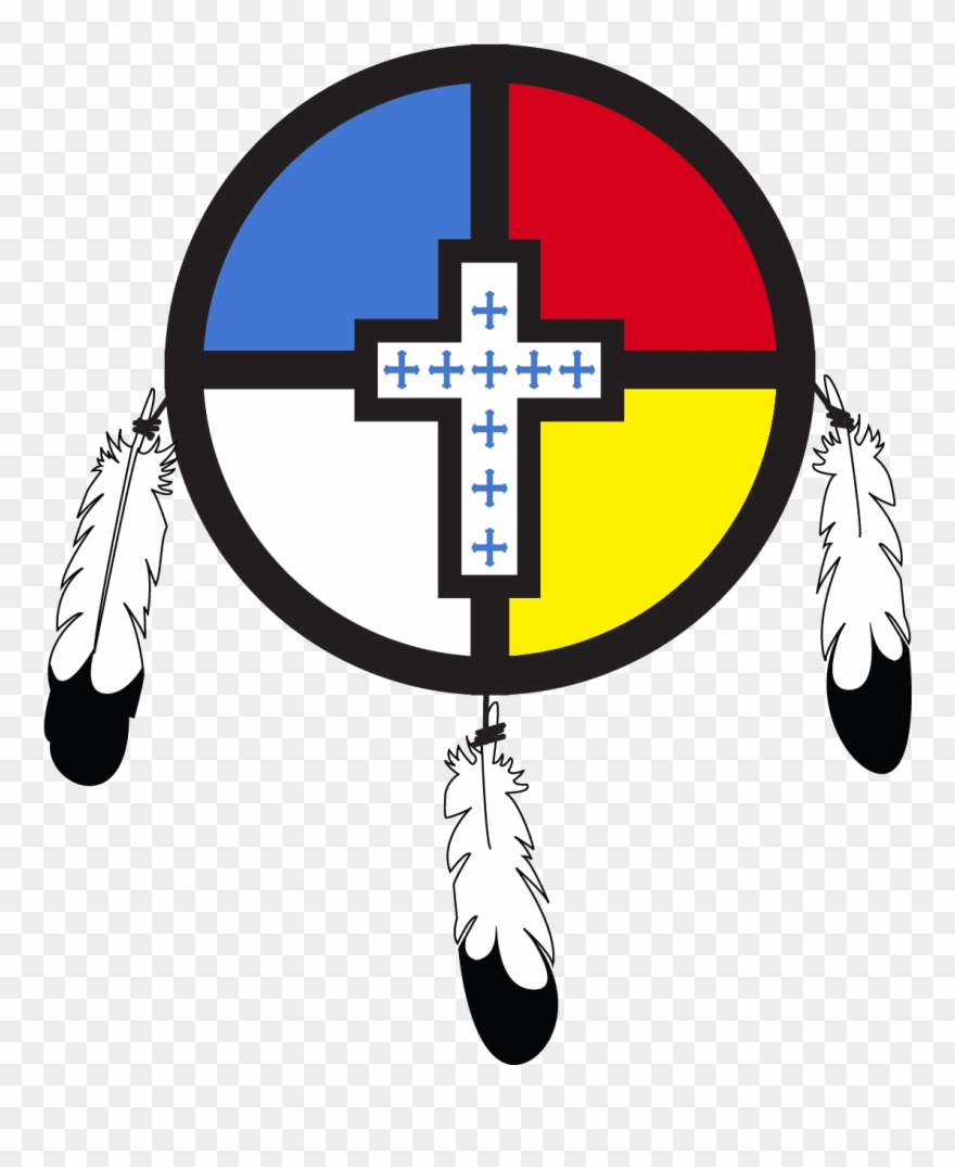 Cross and feathers clipart clip art free download Pride Flag Cross With Feathers Niobrara Cross - Cross Clipart ... clip art free download