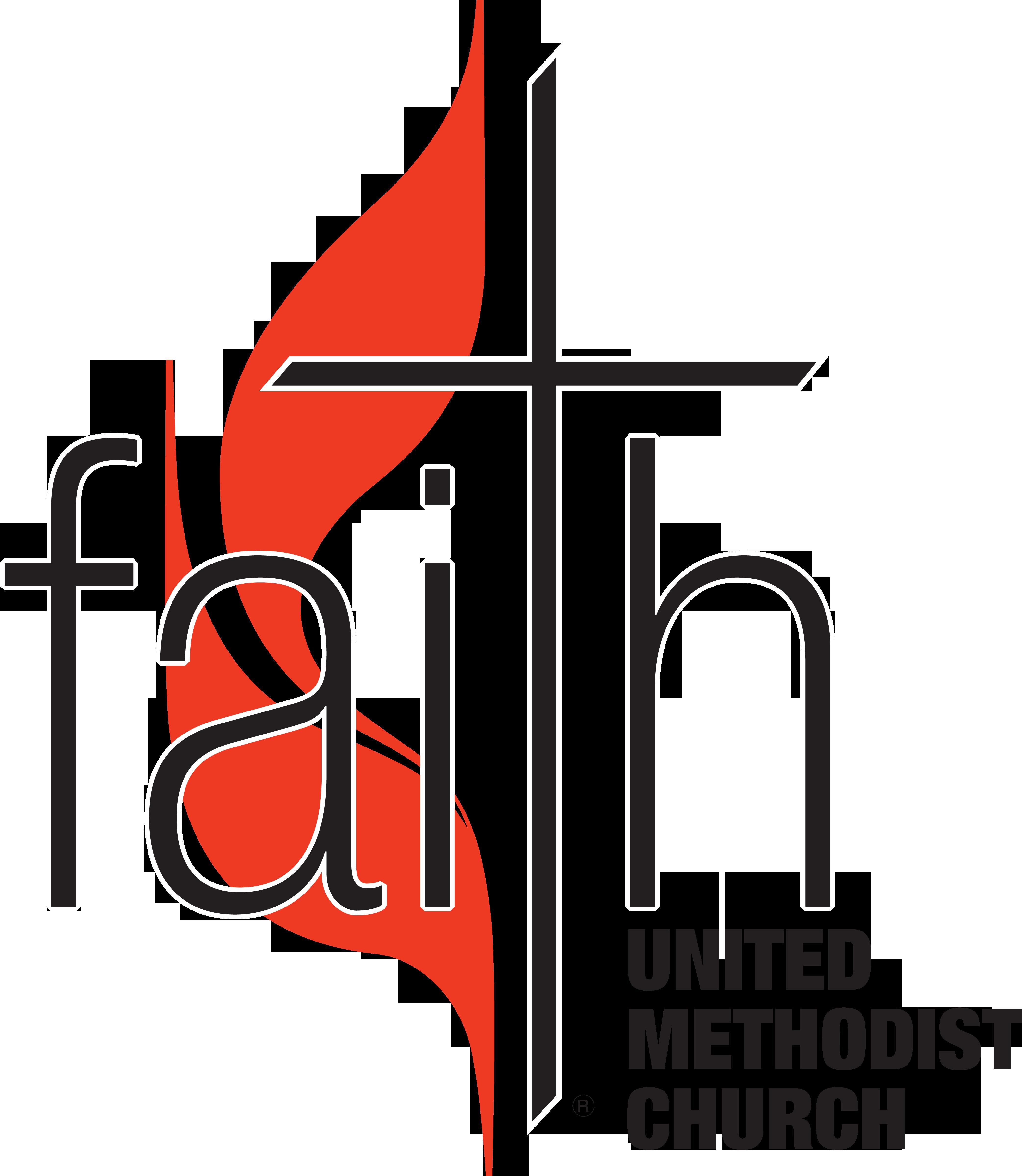 United methodist church Logos clipart stock