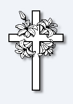 Cross and flowers clipart picture library download Cross with flowers clipart images - ClipartFest picture library download