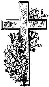 Cross and flowers clipart png freeuse stock Cross With Flowers Clipart - Clipart Kid png freeuse stock