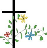 Cross and flowers clipart clipart stock Cross With Flowers Clipart - Clipart Kid clipart stock