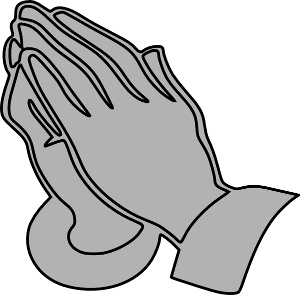 Cross with praying hands clipart svg black and white library Praying Hands Clip Art With A Cross | Clipart Panda - Free Clipart ... svg black and white library