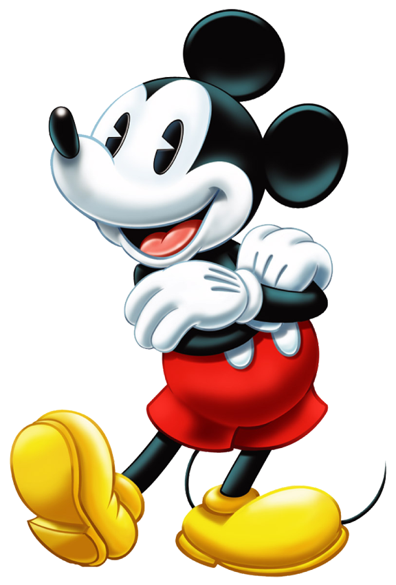 Cross arms clipart. Classic mickey mouse yawn
