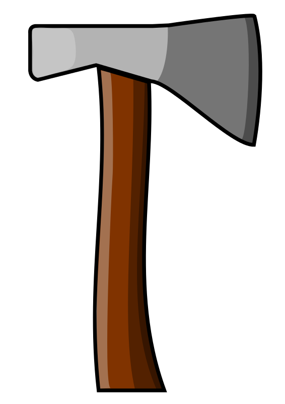 Cross axes clipart.  collection of lumberjack