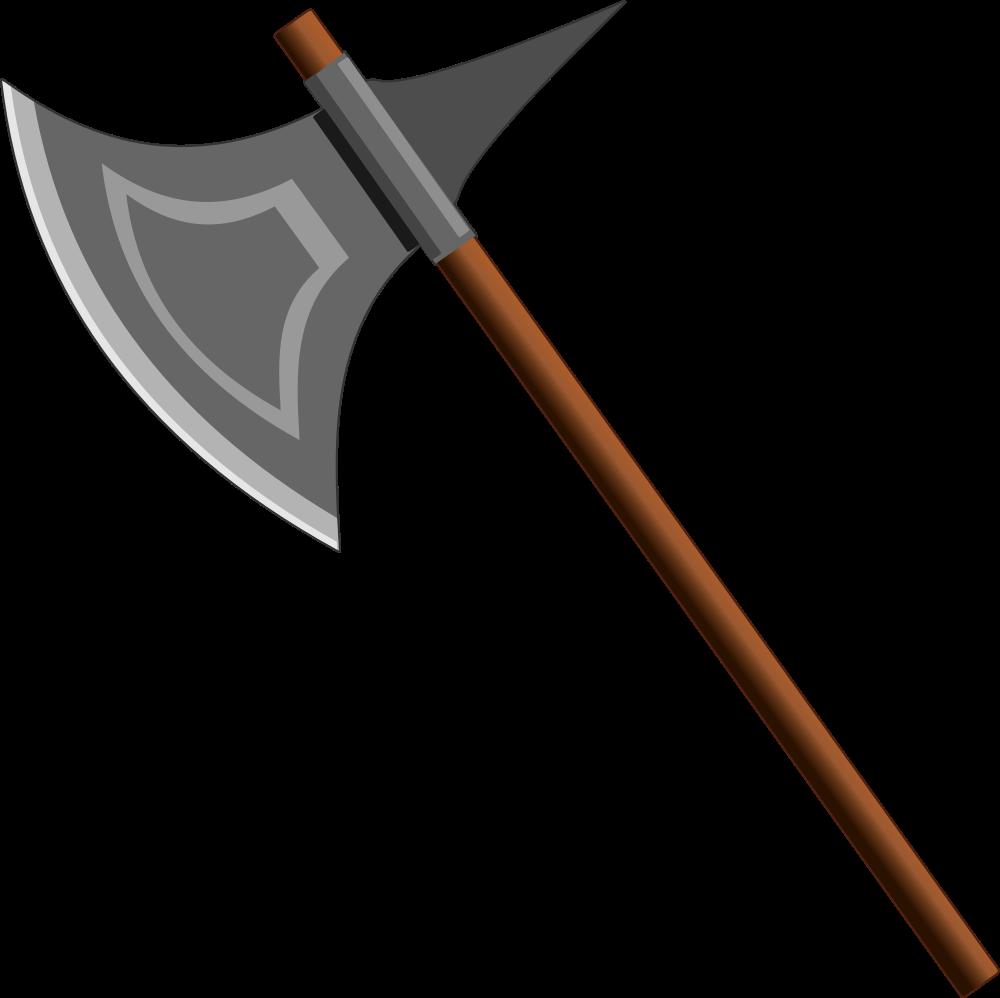 Cross axes clipart. Onlinelabels clip art axe