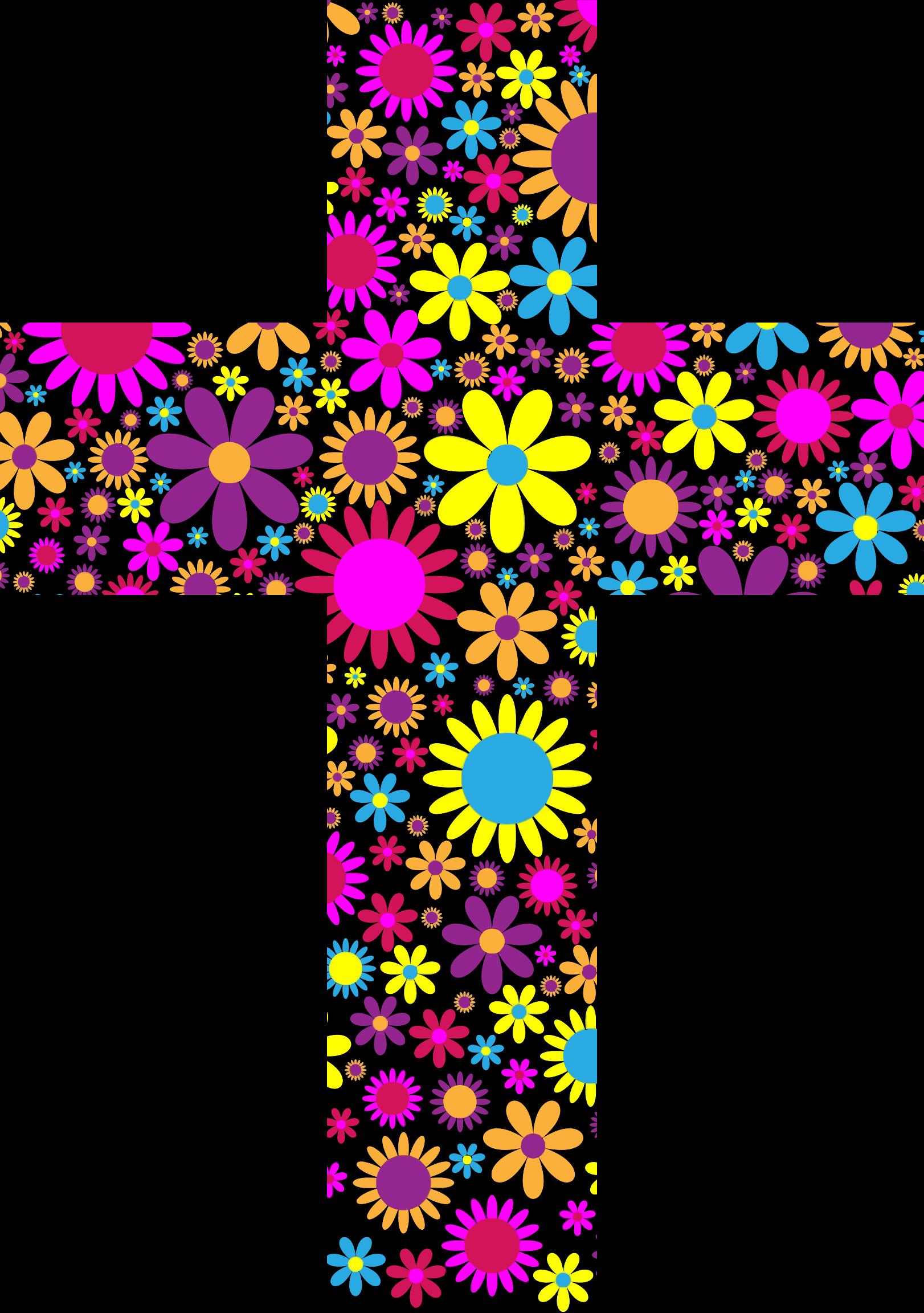 Cross bat clipart vector Floral Clipart Cross#3540335 vector