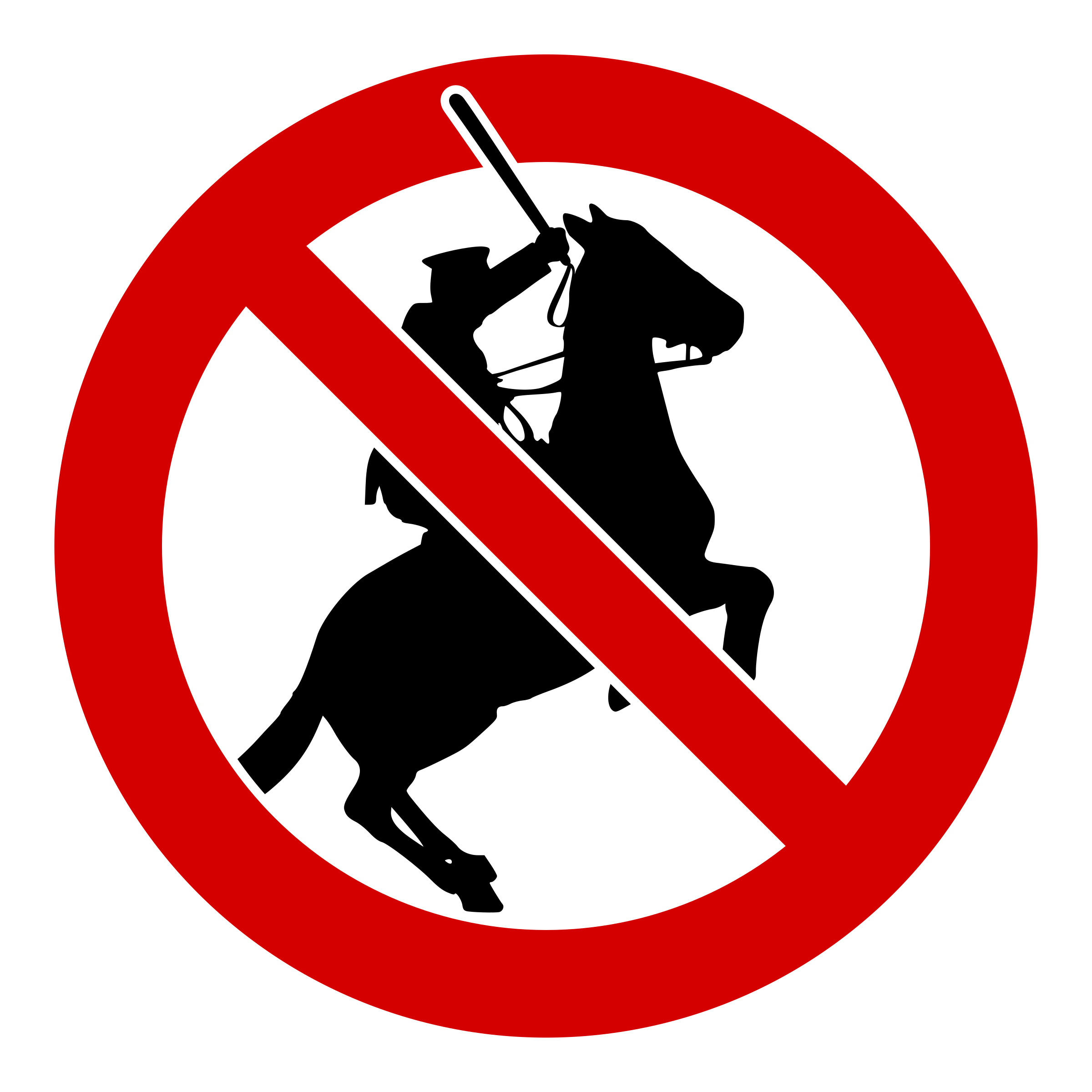 Cross batons clipart clipart freeuse library Clipart - No police on horses! clipart freeuse library