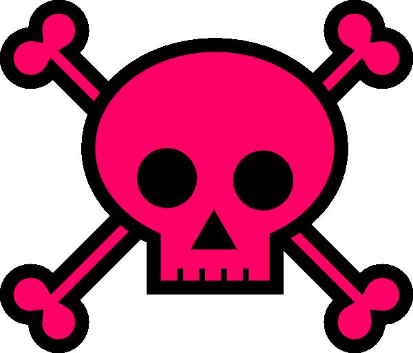Cross bones clipart png Skull With Crossbones Clip Art at Clker.com - vector clip art online ... png