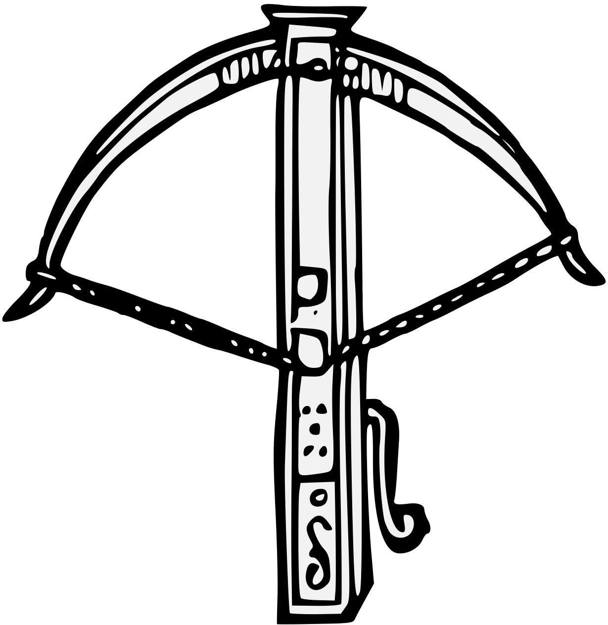 Cross bow clipart svg royalty free Crossbow Drawing at GetDrawings.com | Free for personal use Crossbow ... svg royalty free
