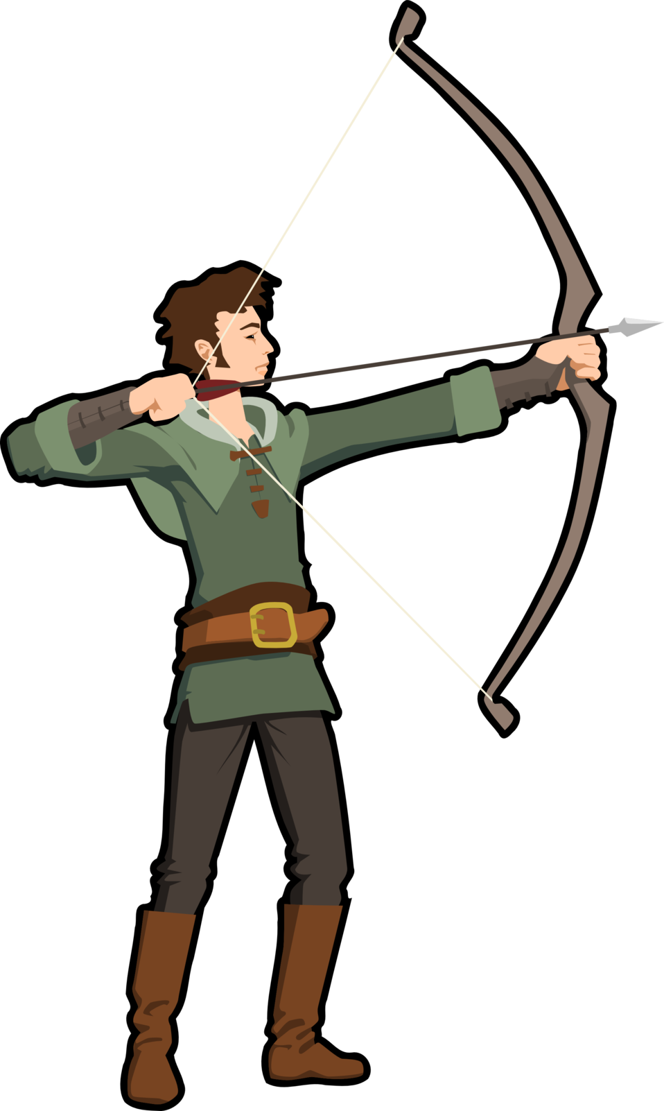 Cross bow clipart png royalty free stock Archer Clipart at GetDrawings.com | Free for personal use Archer ... png royalty free stock
