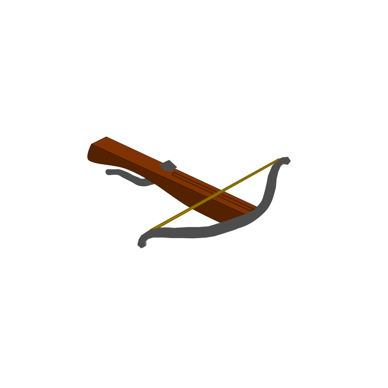 Cross bow clipart picture free Clipart - Crossbow picture free