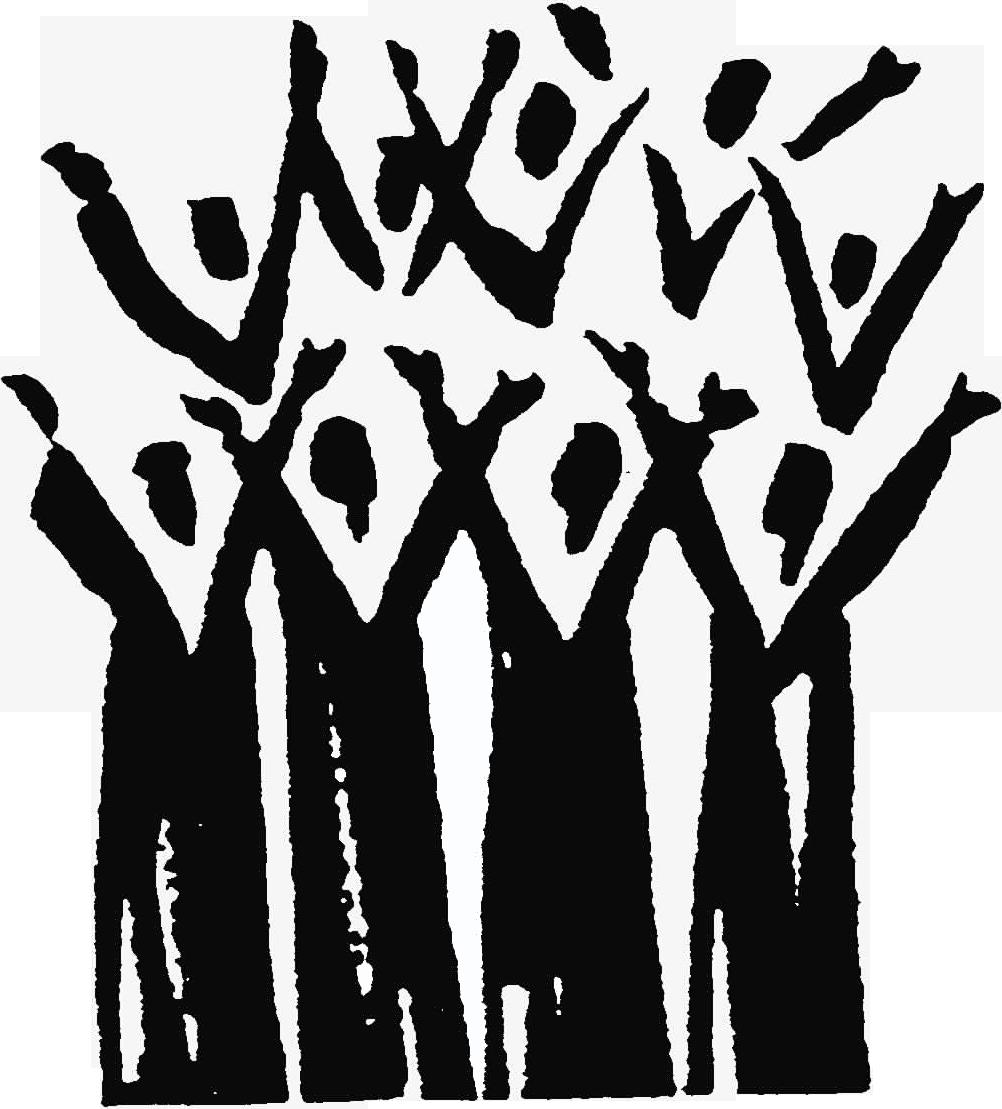 Cross choir clipart black and white. Gospel png muziek pinterest
