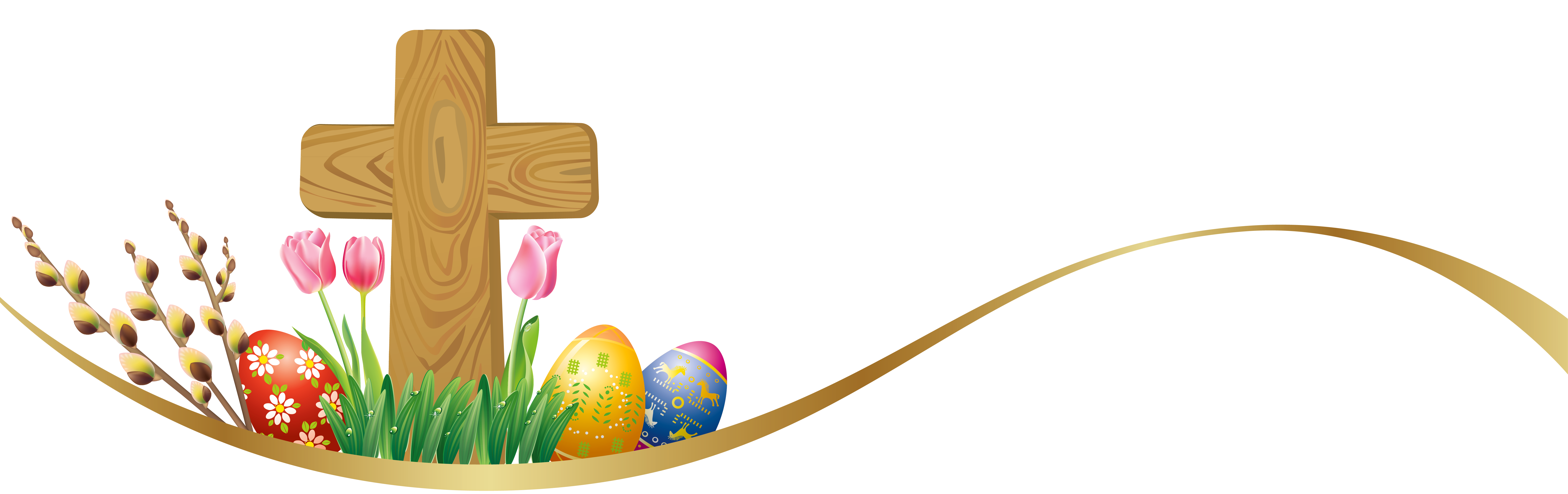 Cross clipart free download clipart Easter egg Cross Clip art - Easter Deco with Eggs and Cross PNG ... clipart