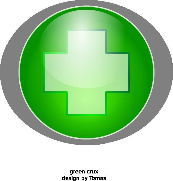 Green cross clipart clip transparent download Green Cross Clip Art at Clker.com - vector clip art online, royalty ... clip transparent download
